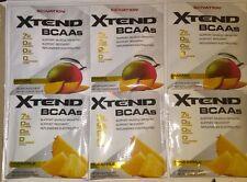 Xtend BCAAs PINEAPPLE, MANGO Flavor 0.49oz (13.81g) 6-Packets