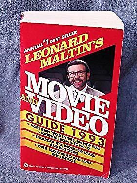 Leonard Maltin's TV Movies and Video Guide, 1993 by Maltin, Leonard