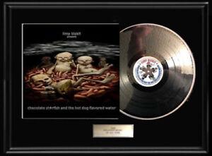 LIMP-BIZKIT-CHOCOLATE-STARFISH-WHITE-GOLD-SILVER-PLATINUM-TONE-RECORD-LP-RARE