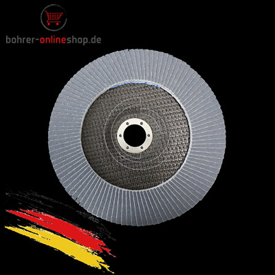 115mm INOX VA F/ächerscheiben Schleifscheiben /Ø 115x22,2mm K/örnung 80