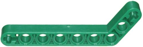 Missing Lego Brick 32271 Green x 2 Technic Beam 3 x 7 Liftarm Bent 53.5