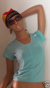 Climacool-Laufshirt-Running-Shirt-RSPX-S-v-aididas-Gr-38-Eisblau