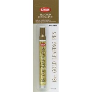 Details about Krylon Leafing Gold Paint Pen, One Single Quantity