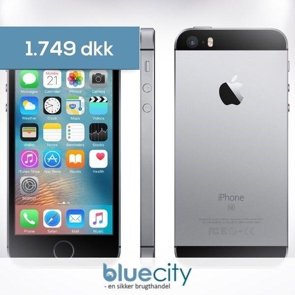 iPhone SE, GB 16, sort