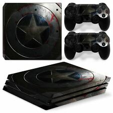 America Star Sony PS4 PRO Console & 2 Controllers Decal Vinyl Skin Wrap Sti