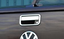 CHROME REAR TAILGATE DOOR HANDLE GRAB TRIM SET COVER FOR VW VOLKSWAGEN AMAROK