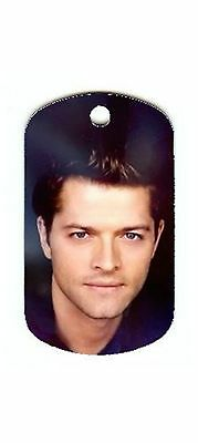 Supernatural  Castiel  Dog Tag Necklace High Quality Material ViVd Colour New