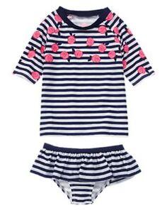 NWT Gymboree Stripe SwimSuit cover up Knit Sundress  5 6 7 Swim Shop Girls