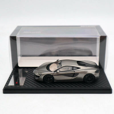TSM Model 1//43 2015 Mclaren 570S Blade Silver Resin Limited Edition Collection