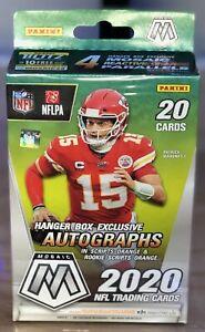 2020-PANINI-Mosaic-NFL-Football-Hanger-Box-20-Card-Box-In-Hand-SEALED