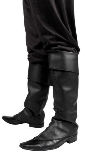 Stiefelstulpen schwarz Gamaschen Schuhüberzieher Hunter
