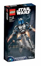 LEGO Star Wars Jango Fett 85 Pieces - NEW 75107
