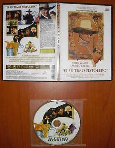 El último Pistolero The Shootist Dvd Caja Fina Don Siegel John Wayne Ebay