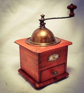 antique peugeot freres valentigney coffee grinder mill moulin
