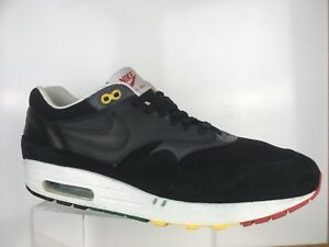 separation shoes c3633 d4dad Image is loading Nike-Air-Max-1-Rasta-Mens-Sz-13-