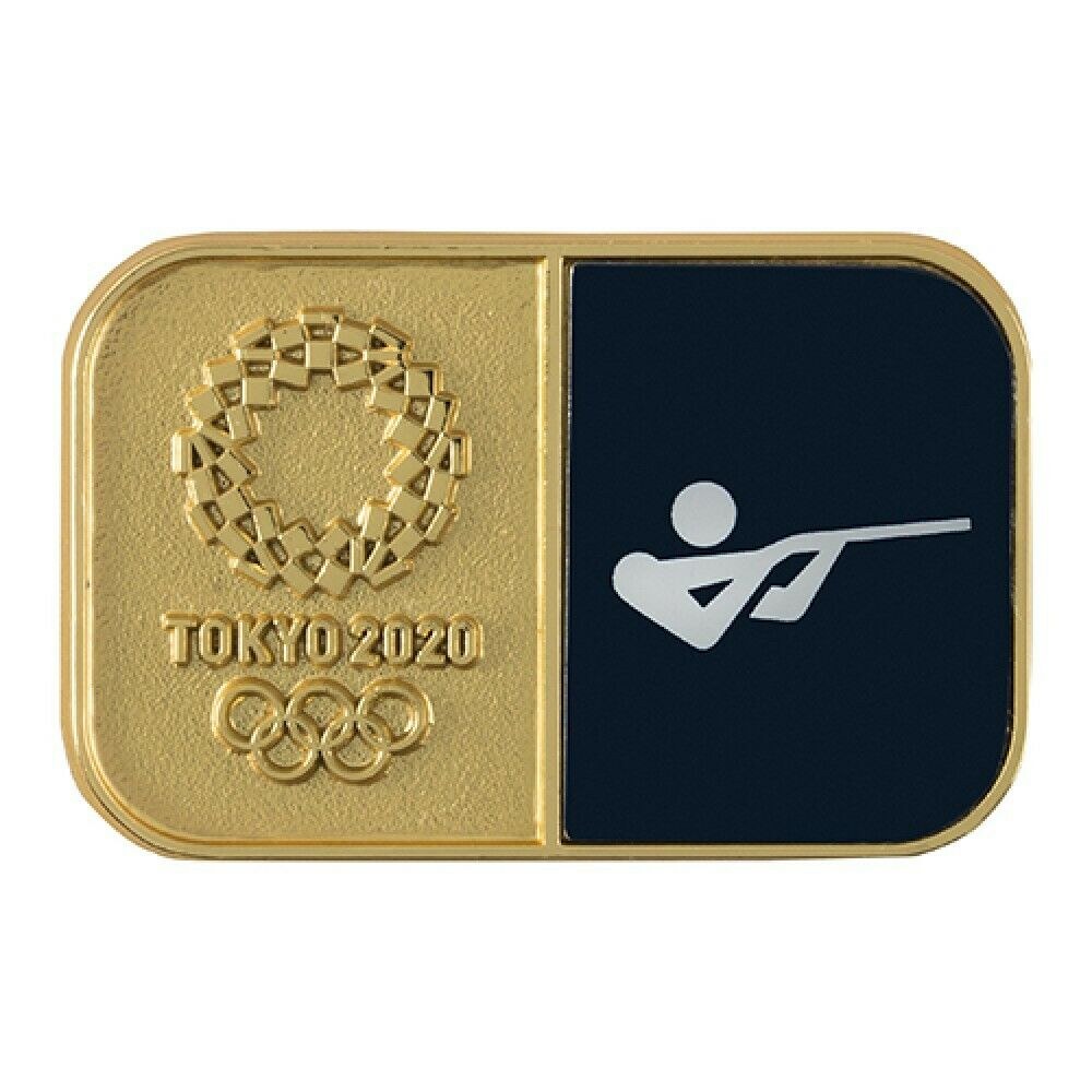 Tokyo Olympics 2020 Olympic Sport Pictogram Shooting  Pin Badge From Japan