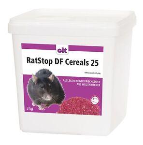 RatStop-DF-Cereals-lt-0-0029-Difenacoum-3-kg-Rattengift-Weizenkoeder-Maeusegift