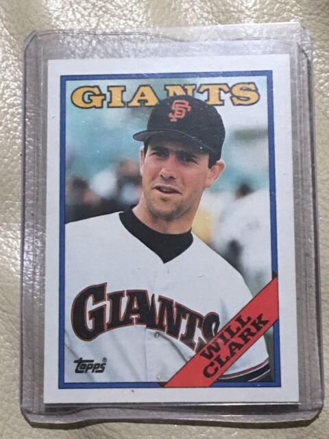 1988 Topps Will Clark 350 Baseball Card