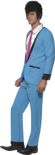 Mens Teddy Boy Costume 1950s Rock N Roll Fancy Dress Adult Outfit