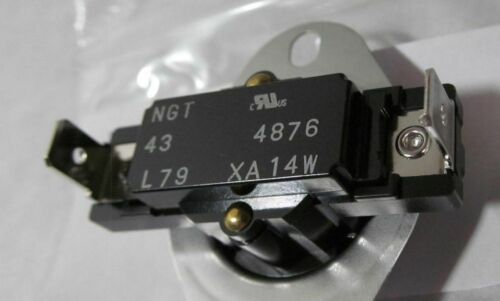 NEW NAPCO// NGT L79 TYPE 43 LIMIT SWITCH// DISC TYPE THERMOSTAT L175F L175°F