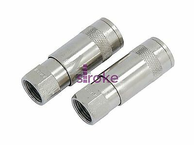 Learned Air Line Hose Connector Fitting Female Quick Release 3/8 Inch Bsp Female 2pk Limpid In Sight Air Tool Parts & Accessories