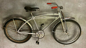 """Monark Silver King 'Hex Tube' all aluminum bicycle from 1948 26"""" wheel size!"""