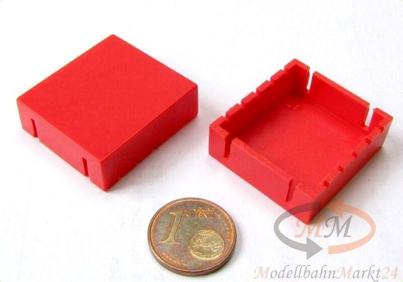 ALBEDO Ersatzteil Ladegut Ladegut Ladegut Unterfahrschutz-Kasten in red kurz H0 1 87 - 0049 9833be