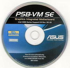 ASUS P5B-VM SE OR P5B-VM SE/1394 Motherboard Drivers Installation Disk M1138