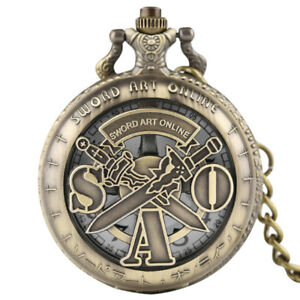 Retro-Fashion-Japan-Anime-SAO-Men-Women-Quartz-Pocket-Watch-Pendant-Chain-Gift