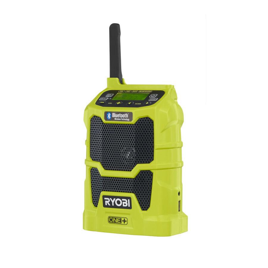 RYOBI RYOBI RYOBI Akku-Blautooth-Radio R18R-0  5133002455  ohne Akku und Ladegerät 035333