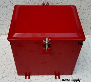 Deluxe-Farmall-IH-International-Tractor-Super-A-C-painted-battery-box-350634R91