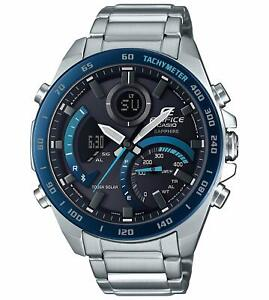 CASIO-EDIFICE-ECB-900YDB-1BJF-Bluetooth-Smartphone-Link-Men-039-s-Watch