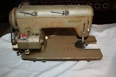 Vintage Pfaff Sewing Machine Model 60 color is beige Made ...