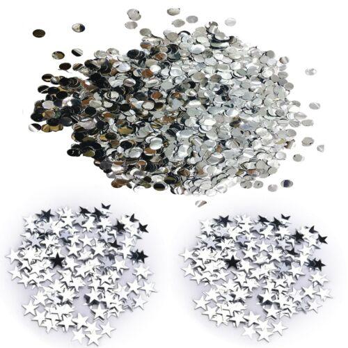 5000 Wedding Confetti Plastic Petal PASTEL Circles Party Decoration FILL 5 BAGS