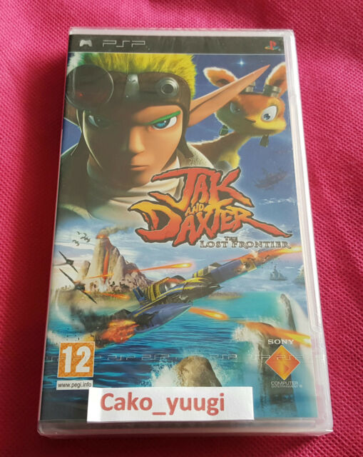 JAK AND DEXTER THE LOST FRONTIER SONY PSP NEUF SOUS BLISTER VERSION FRANCAISE