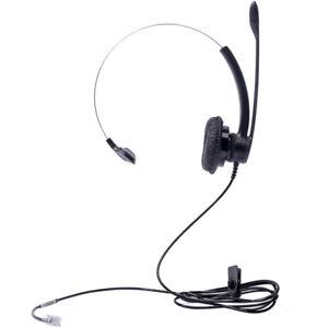 Plantronics Practica Sp11 Headband Headset With Rj9 Plug For Headset Ready Phone Ebay