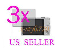 3x Clear LCD Screen Protector Guard Sony CyberShot DSC-HX9V