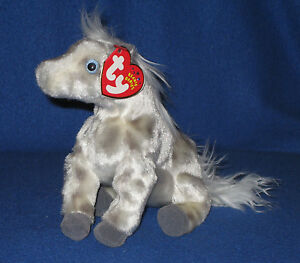 Image is loading TY-LIGHTNING-the-HORSE-BEANIE-BABY-MINT-with- 9a815b31ed3