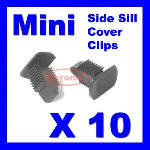 BMW-MINI-SIDE-DOOR-SILL-COVER-TRIM-CLIPS-FASTENERS-R50-R52-R53-R55-R56-R58-R59