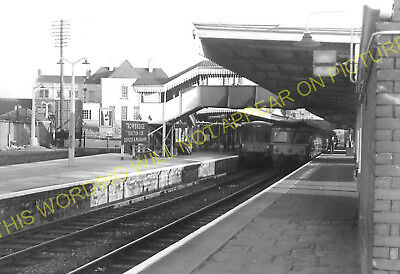 Trowbridge Railway Station Photo GWR. Westbury to Staverton and Bradford 14