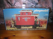 (SRH) Leerkarton Leerbox 4123 Caboose Begleitwagen Western Waggon Eisenbahn