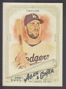 Topps-Allen-amp-Ginter-2018-Base-6-Chris-Taylor-Los-Angeles-Dodgers