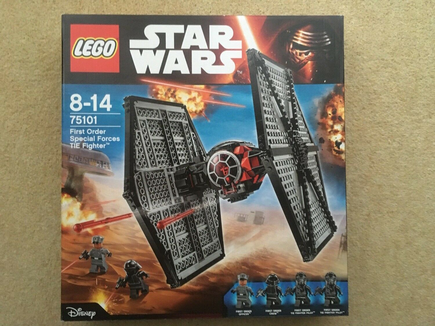 LEGO STAR WARS 75101 - First Order Tie Fighter- New in factory sealed box 2015