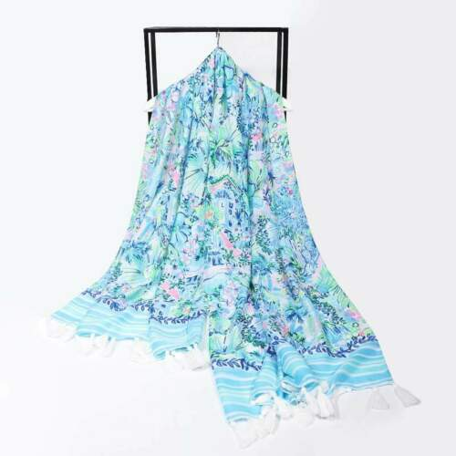 Free Ship Lilly/'s House Lilly Pulitzer Resort Scarf Wrap