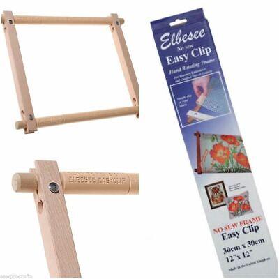 Elbesee Easy Clip No Coser Tapiz /& Bordado Marcos