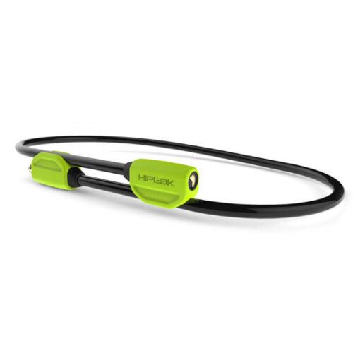 Lock Cable Hiplok Pop 10mm 4.25/' Lime