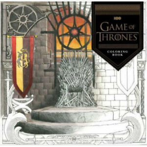 Image Is Loading HBO Game Of Thrones Coloring Book
