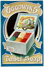 VINTAGE DOBBINS TOILET SOAP ADVERTISING A4 POSTER PRINT