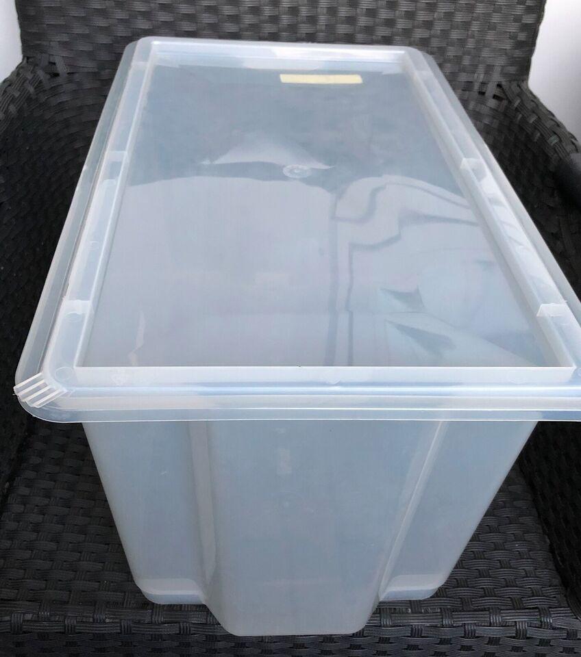 Plastikkasse transperant