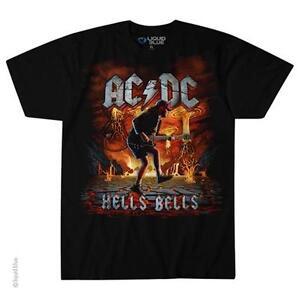 Hells erupción camiseta Con Import licencia Roca oficial Ac Black dc Bells xw1xPqUO0